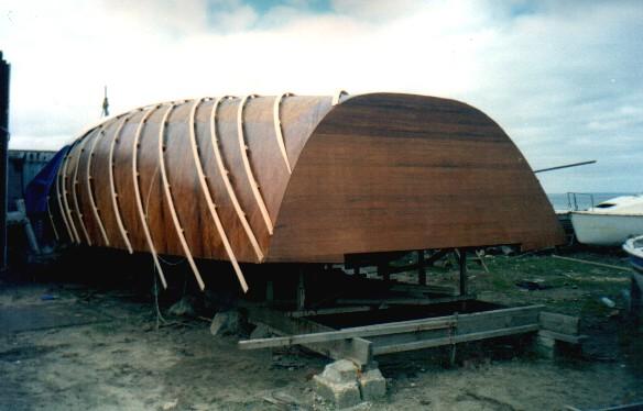 деревянная лодка проекта Ersh 462