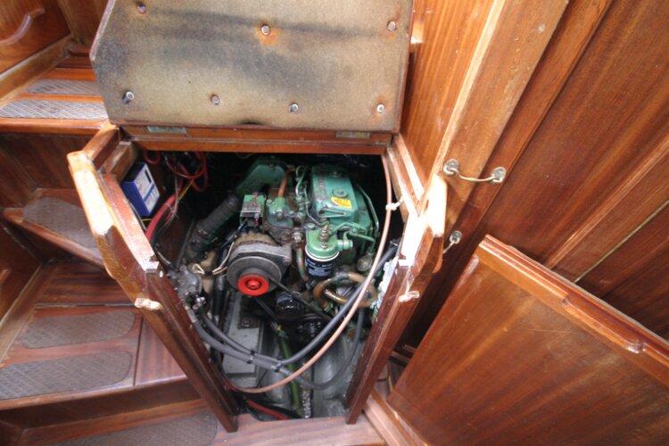 engine-under-stairs