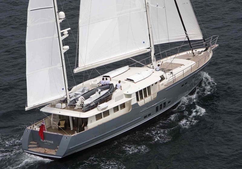 Экспедиционная яхта Гортензия (hortense)