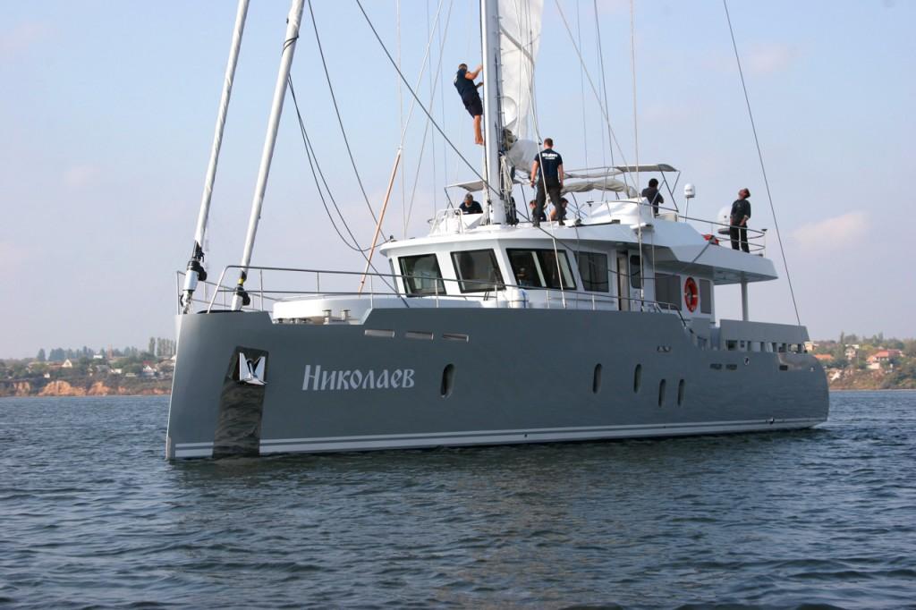 яхта Николаев