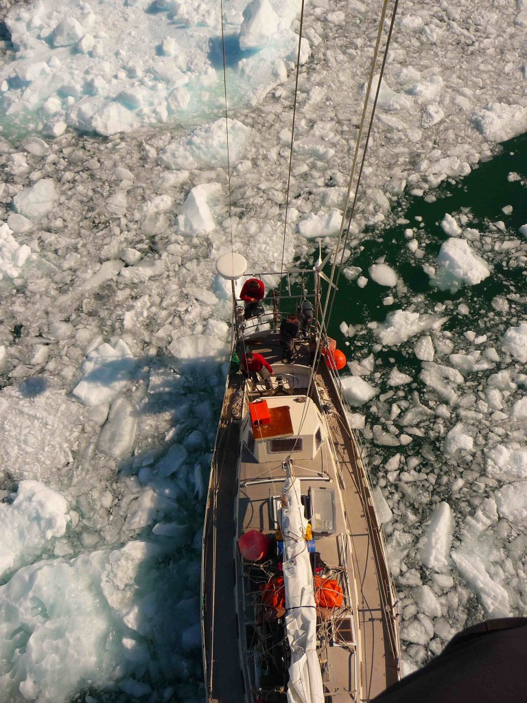 Яхта Gambo в Гринландии