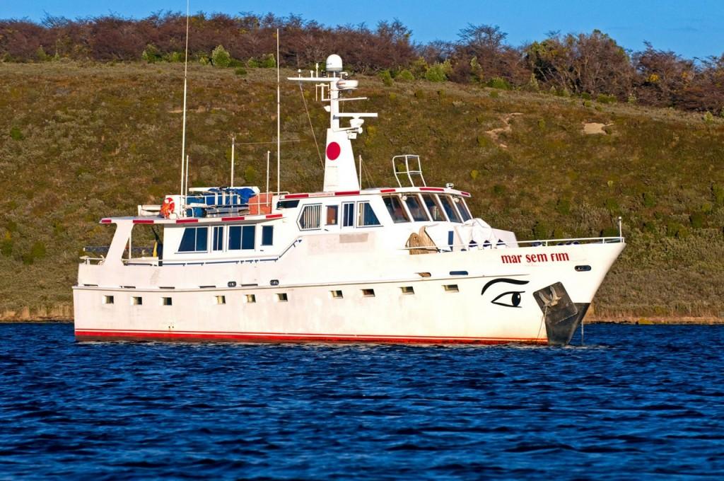 Экспедиционная яхта Mar Sem Fim