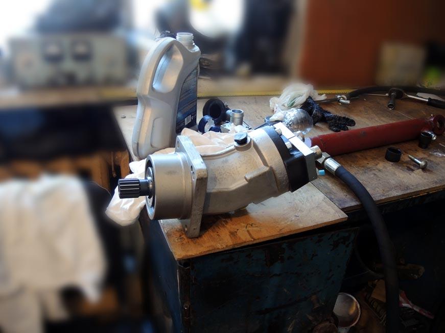 реверсивный гидромотор-гидронасос 310ой серии