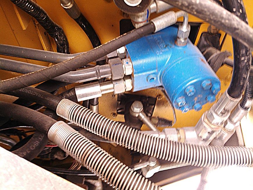 рулевой насос трактора
