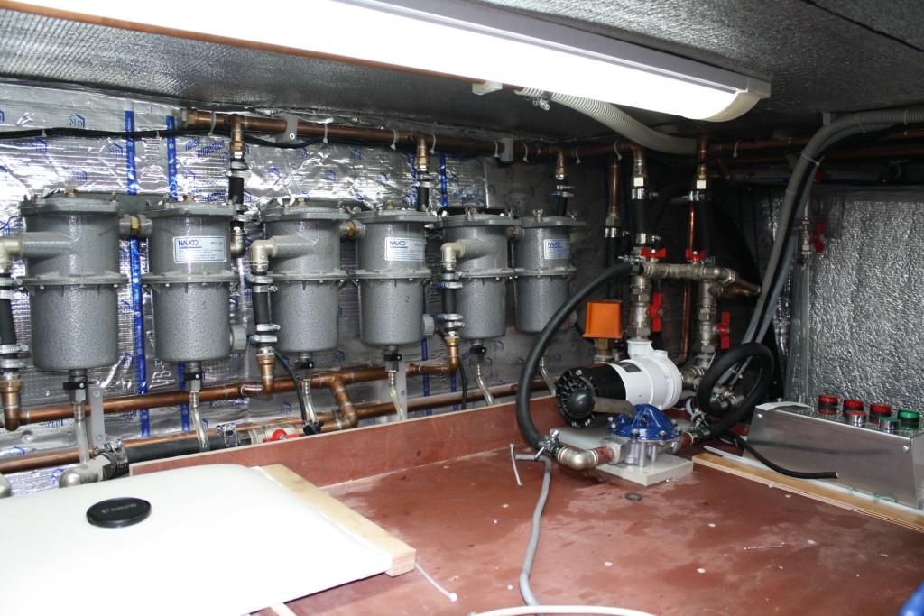 батерея топливных фильтров для солярки