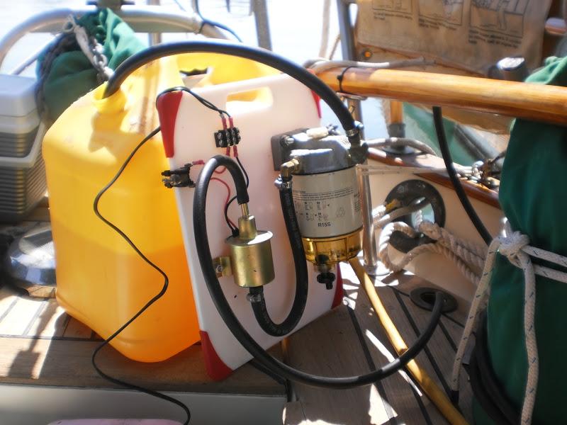 портативная система очистки топлива