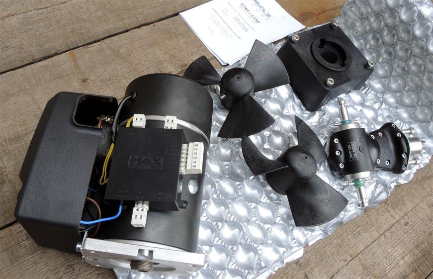 Подруливающее устройство max-power-ct80