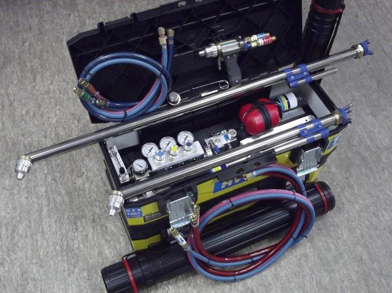 установка газодинамического напыления hvof-termika3
