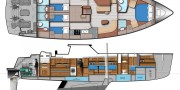 58 Expedition Motor Sailor from Ted Hood Yacht Design