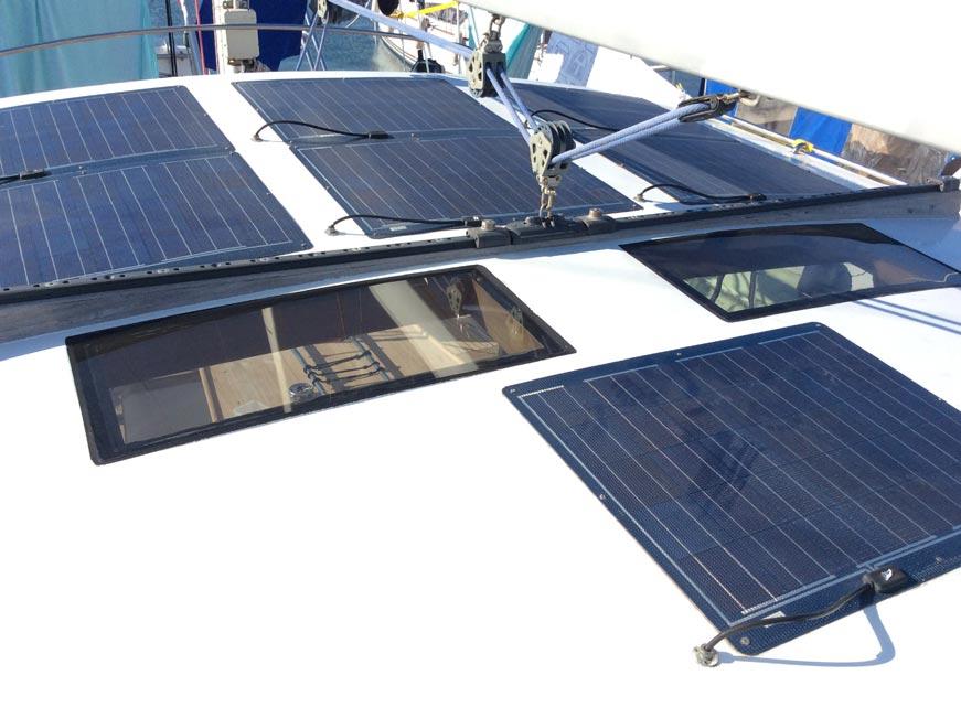 солнечные панели на спрейхуде