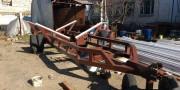 яхтенная телега для большой яхты