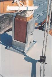 Пасынки для деревянной мачты