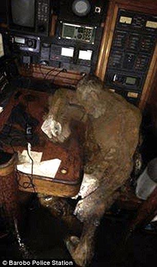 мумифицированное тела Манфрида Фритца