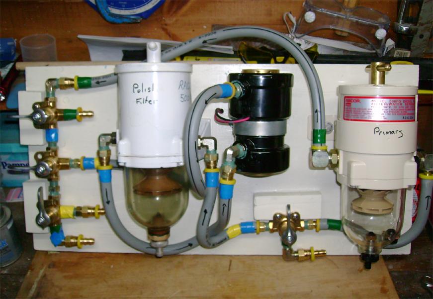 топливные фильтры и сепараторы на яхте