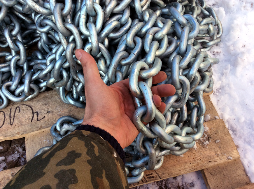 13mm anchor chain  for big steel yacht