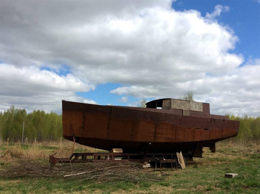 Яхта Стальная Крыса, мая 2018